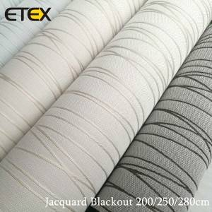 OEM/ODM Factory Roller Blinds Fabric Suppliers - Jacquard Roller Blind Fabrics – ETEX