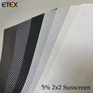 OEM/ODM Factory Roller Blinds Fabric Suppliers - Sunscreen Fabrics – ETEX