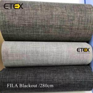 Wholesale Price China Roller Blind Fabric For Printing - Blackout Roller Blind Fabrics – ETEX
