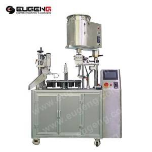 Rotary Type Heating Mixing Lip Gloss Filling Machine