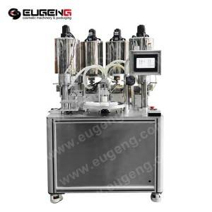 Professional China Automatic Gel Polish Filling Machine - Swirl Cream Filling Machine – Eugeng
