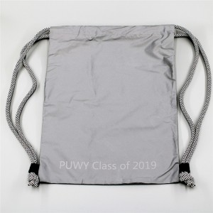2020 New Style Drawstring Purse - Reflective Material Bag RB19-01 – Ewin