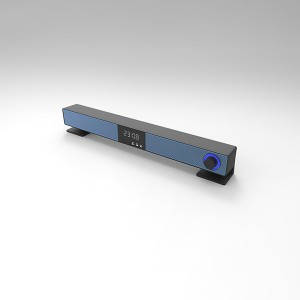 2020 New arrival Mini Soundbar for Home Theater Bluetooth Speaker Portable Mini Soundbar with RGB lights(600X-25B)
