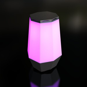 Factory Supply Portable Party Speakers - Eyin AI Smart Night Light with Bluetooth Music Speaker, Dimmable Color Changing RGB Bedside Lamp for Bedroom, Portable Speakers with Mood Light, Best Gifts...