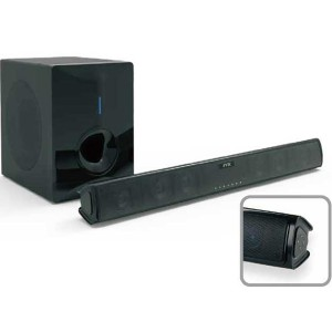 Best Price on  Soundbar Soundbase - 2.1 Home Theater Bluetooth 3D stereo  Soundbar With Subwoofer for TV(SP-608W) –  Eyin