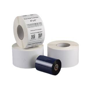 OEM Factory for Register Rolls Thermal - Thermal transfer label – Fangda