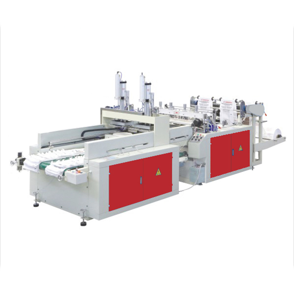 DFR380 Double Line T-shirt Bag Making Machine
