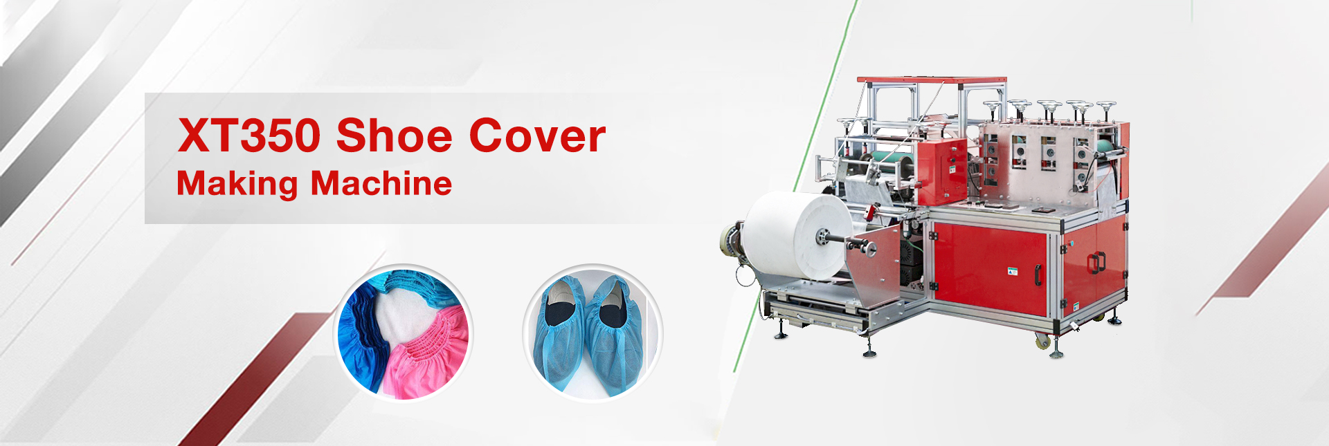 XT350 Shoe Cover Making Machine