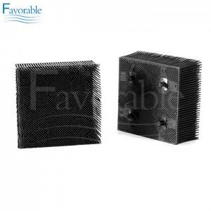 Good Quality Bristle Block - 92910001 Round Foot Bristle block For Geber GTXL S91 Cutter Spare Parts  – Favorable