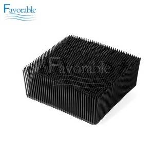 Manufacturer for Yin Bristle -  92911001 Bristle Blocks 1.6″ Square Foot Black Color for Gerber Cutter  – Favorable
