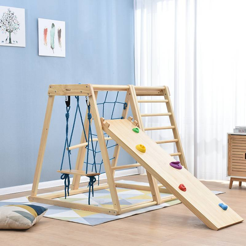 Multifunctional Kids Climbing Set, Baby Climber, Climbing Ladder for Toddler Featured Image
