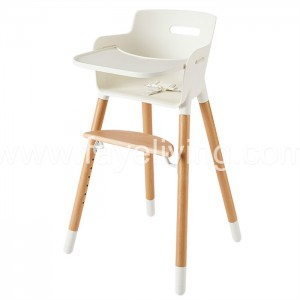 Quality Inspection for Wooden Baby Dining Chair - Modern Wood Baby Feeding Chair Baby High Chair – Faye