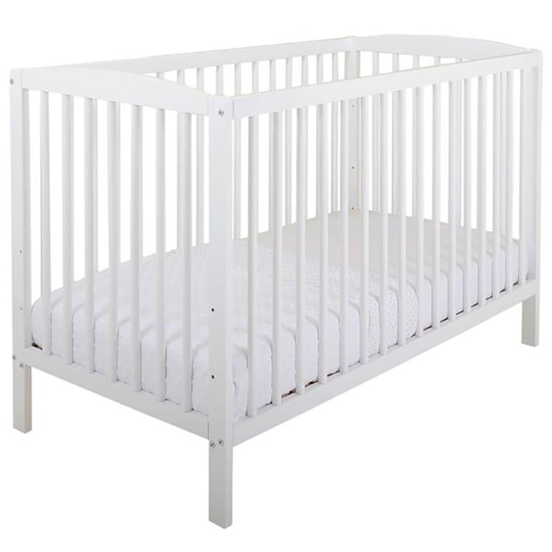 120x60cm European Standard 2in1 Solid Wooden Baby Cot Featured Image