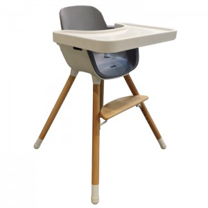 PU Cushion Big Baby Highchair