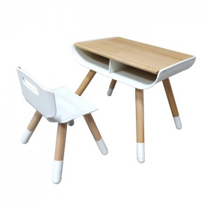 Height Adjustable Kids Table and Chair Set