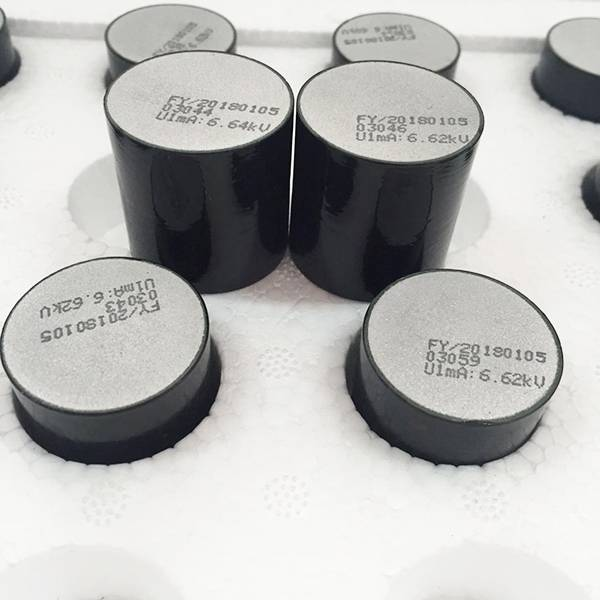 China wholesale Zno Varistor - Metal Oxide Varistor/Zinc Oxide Blocks/MOV Blocks for Lightning Arrester – Fayun