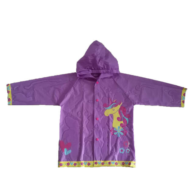 Kids Raincoat with Hood  USD1.1-USD2.3 Featured Image