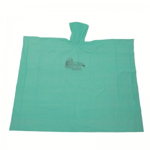Reusable PEVA Rain Ponchos with Custom Logo Printing