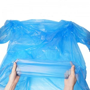 Emergency Portable PE Disposable Raincoat