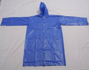 China Wholesale Kids Pu Rainwear Factories - Environmentally friendly material EVA raincoat with drawstring  – Forever Bright
