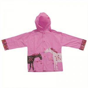 Kids Raincoat with Hood  USD1.1-USD2.3