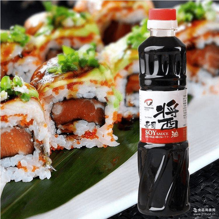 500ml Sushi Soy Sauce Natural Brewed Soy Sauce Container
