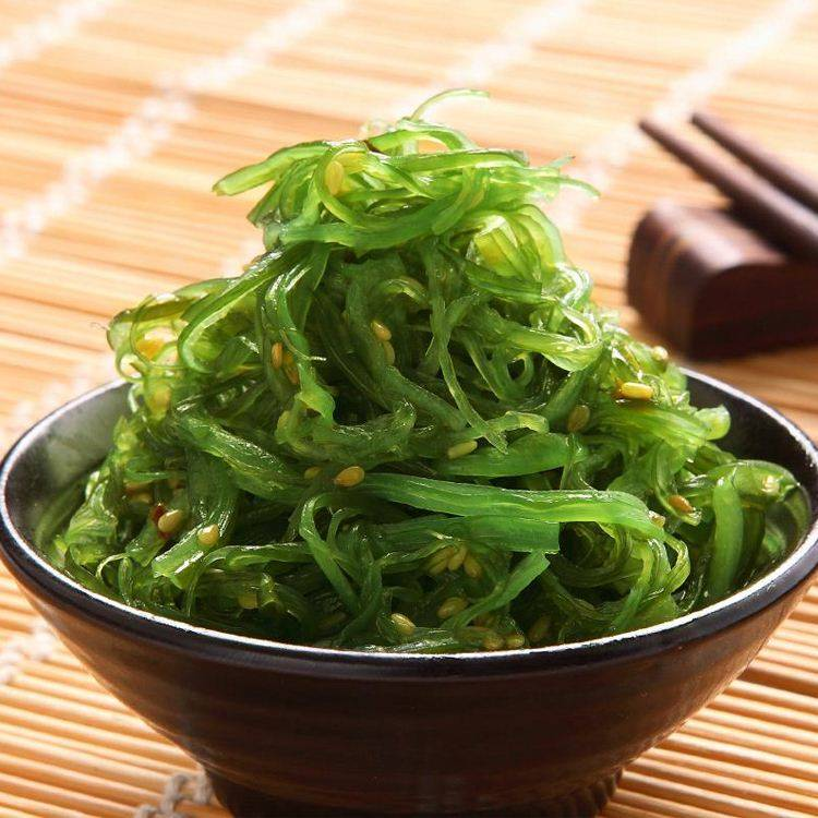 China delicious spicy snack chuka wakame frozen seaweed