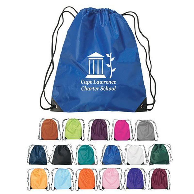 210D polyester Drawstring backpack  Featured Image