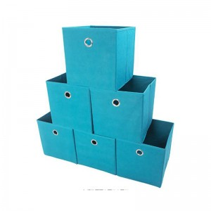 Hot sale pp nonwoven storage bin home use