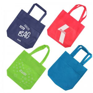 wholesale cheap promotional non-woven bag tote bag with customized logo