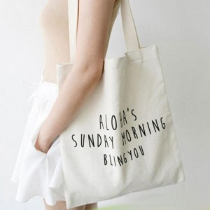 Cheap Customized Logo tote shopping bag canvas bag cotton bag with logo
