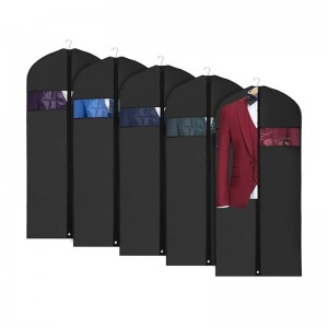 Garment Bag For Sale - Custom Logo PP Non Woven Suit Cover Travel Garment Bag – Fei Fei
