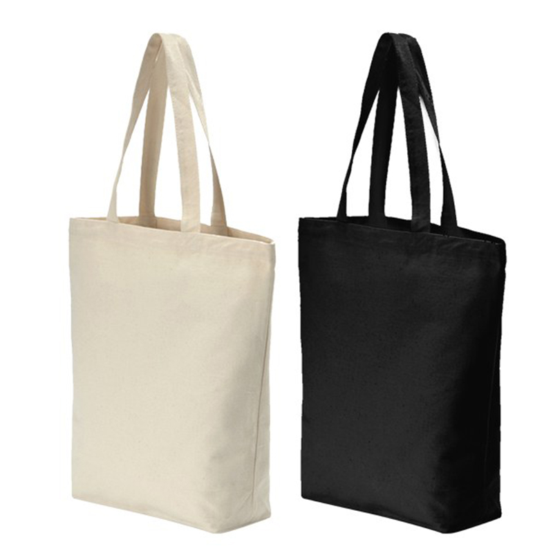 Customized Logo Printed Cotton Shopping Tote Bags Featured Image