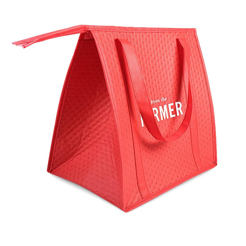 OEM manufacturer Shopping Bag Recycle - Non Woven Thermal Insulated Lunch Cooler Shopping Bag – Fei Fei