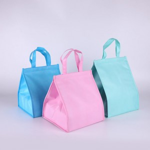 Non-woven cooler bags lunch bag with custom printed logo