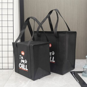Non-woven cooler bags with custom printed logo