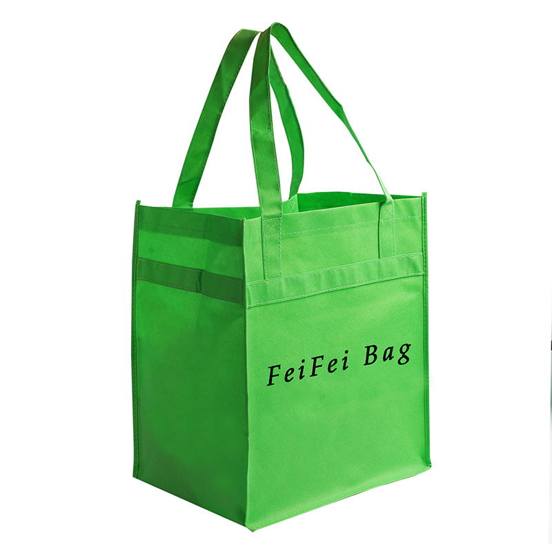 Piping Non-woven Bags ultra-large shopping rip-resist Custom printing Featured Image
