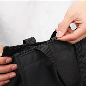 Polyester Outdoor Foldable Waterproof Lunch Cooler Bag