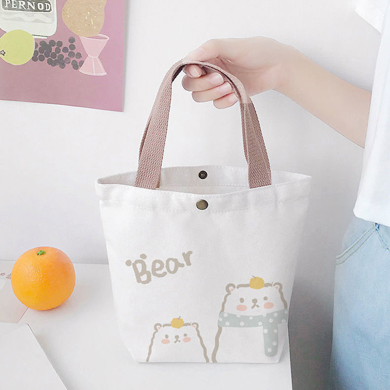Leading Manufacturer for Woman Black Tote Bag - Reusable Cotton Canvas shopping tote bags with custom printed logo – Fei Fei