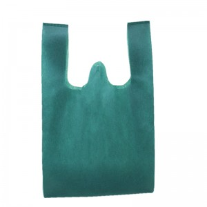 Ultrasonic biodegradable non-woven shopping Bags Reusable Eco-friendly Custom printing