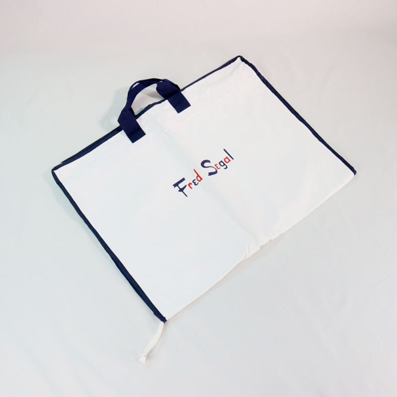 natural cotton personalised garment bag for dress shirt Featured Image
