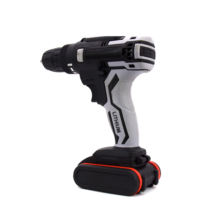 Hot Selling Cheap Custom 21V Lithium Battery Price Cordless Impact Dual Speed Power Drill Tools
