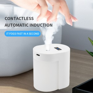 2020 sanitizer dispenser mini portable Touchless alcohol spray automatic induction intelligent hand sterilizers