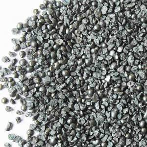 Top Suppliers Metal Ball - Low Carbon Angular Steel Grit – Feng Erda