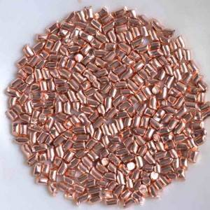 Factory Outlets Rolling Ball - Red Copper shot/copper cut wire shot – Feng Erda