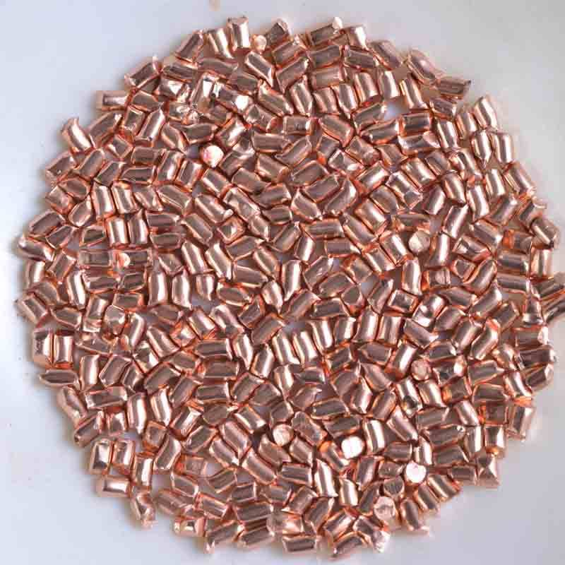 Factory directly supply Stainless Steel Sand Casting - Red Copper shot/copper cut wire shot – Feng Erda