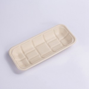 "Discount wholesale Box - ZZ Eco Products TAN Fiber Meat Trays- 10 "" X 4 2/5″ X 1″, 4/125 – ZHONGSHENG"