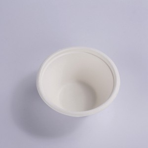 ZZ Eco Products Biodegradable 7 OZ Sugarcane Bagasse Souffle Cup/Portion Cup-1600/Case
