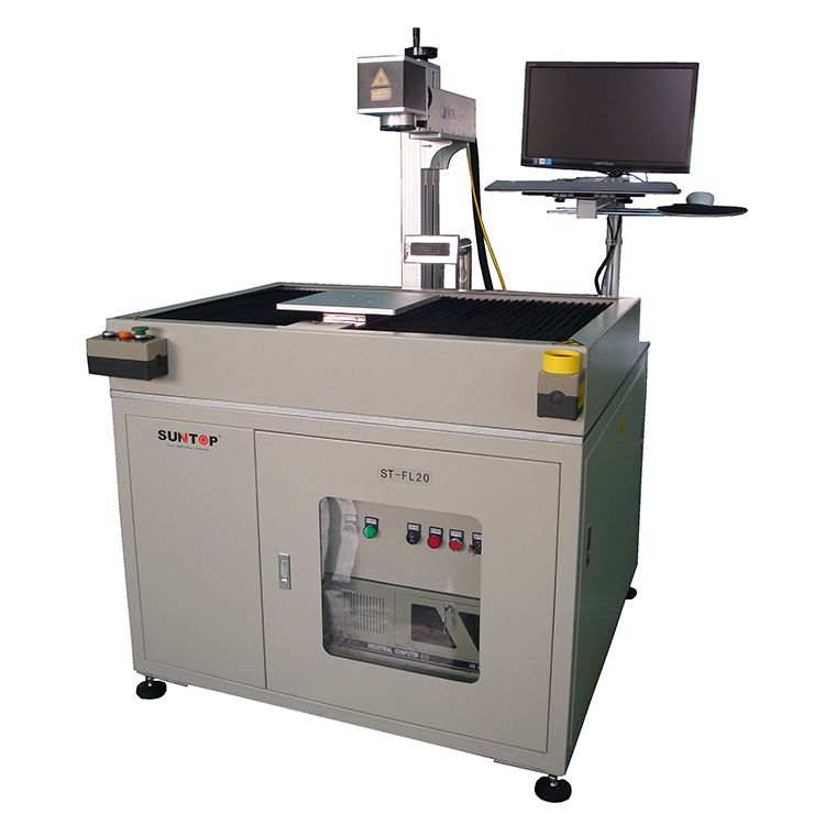 Customized fiber laser marking machine with X and Y axis Featured Image