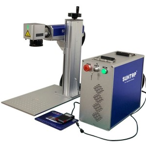 Portable fiber laser marking machine (ST-FL20P)